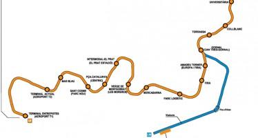La L9 arribarà al Prat sense passar per La Marina