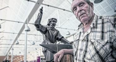 El 4 de juliol festa popular per celebrar la inauguració de l'escultura de Benito Maín