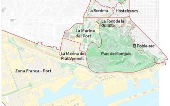 Així es van repartir els vots al Districte de Sants-Montjuïc