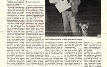 """""""Trabajar en la calle"""" (gener, 1997)"""