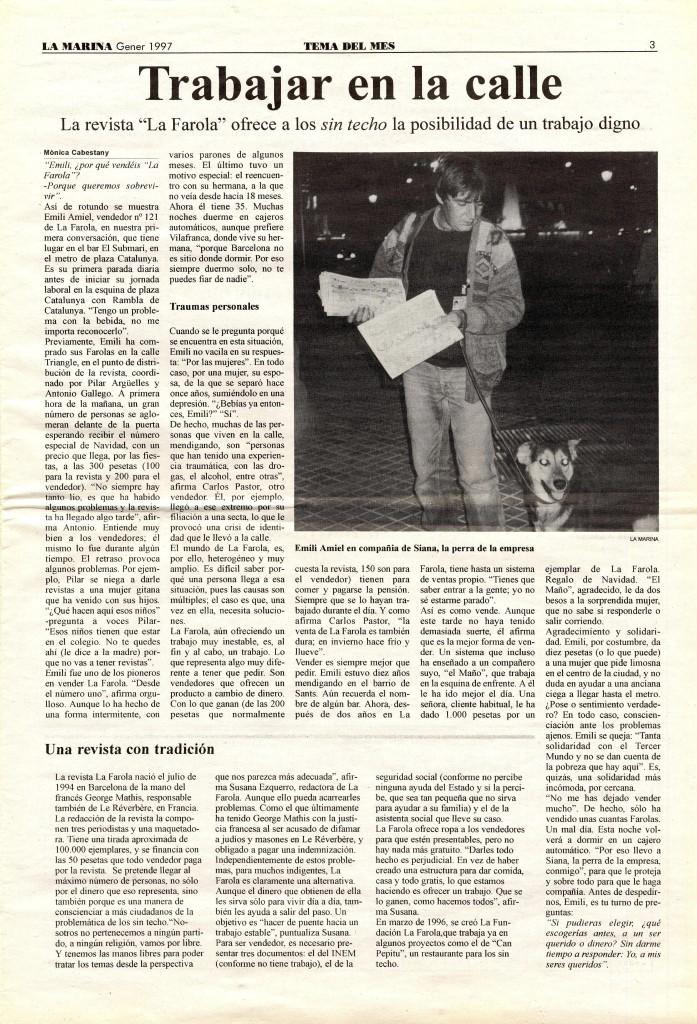 1997 gener tema del mes la farola sense-sostre
