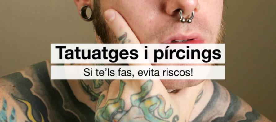 Consells per a les persones que decideixen fer-se tatuatges o posar-se pírcing
