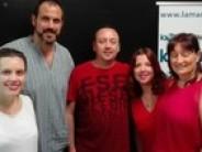 Programa 118 7/9/2016 Rubén Escartín, Ernest Guirao, Sonia Arcos y Encarna y Martín
