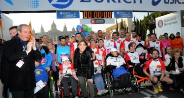Marató de Barcelona, Impressionant expressió esportiva, festiva i solidària