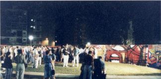 Fotos de l' 11 de juliol de 1991 amb el conjunt de pintures que varen ser donades. D'autor desconegut.