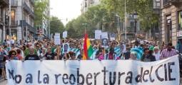 L'Ajuntament de Barcelona ordena el tancament del Centre d'Internament d'Estrangers (CIE)