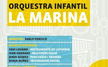 L'Orquestra de La Marina torna a La Bàscula amb un concert el 3 de febrer