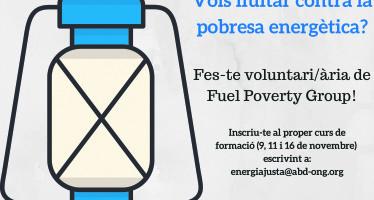 Fuel Poverty Group: contra la pobresa energètica