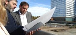 Comencen les obres pel nou districte administratiu de la Generalitat al barri
