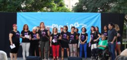 La Taula de Dones de la Marina reivindica una Marina lliure de masclisme en el pregó de la Festa Major