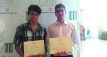 Dos estudiants d l'IES Domènech obtenen distincions a les PAU