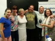 Programa 8 junio – Rubén Escartín y Maribel – Irene Garzón, Christina Valdivia, Martín y Rosa María