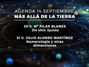 Programa día 14 septiembre – Más allá de la Tierra – Pilar Blanes, Julio Alonso Martinez