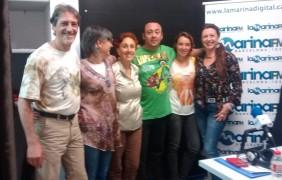 Teresa Boté i Josep Mª- Isabel Morillo, Christina Valdivia y Pilar Blanes