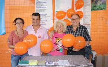 Les entitats de Sants-Montjuïc presents a la Mercè 2013