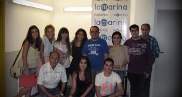 A les portes del 20è aniversari, l'equip de redacció de LA MARINA afronta el futur amb nous reptes