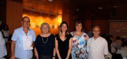 Isabel-Clara Simó emociona el públic de la Biblioteca Francesc Candel
