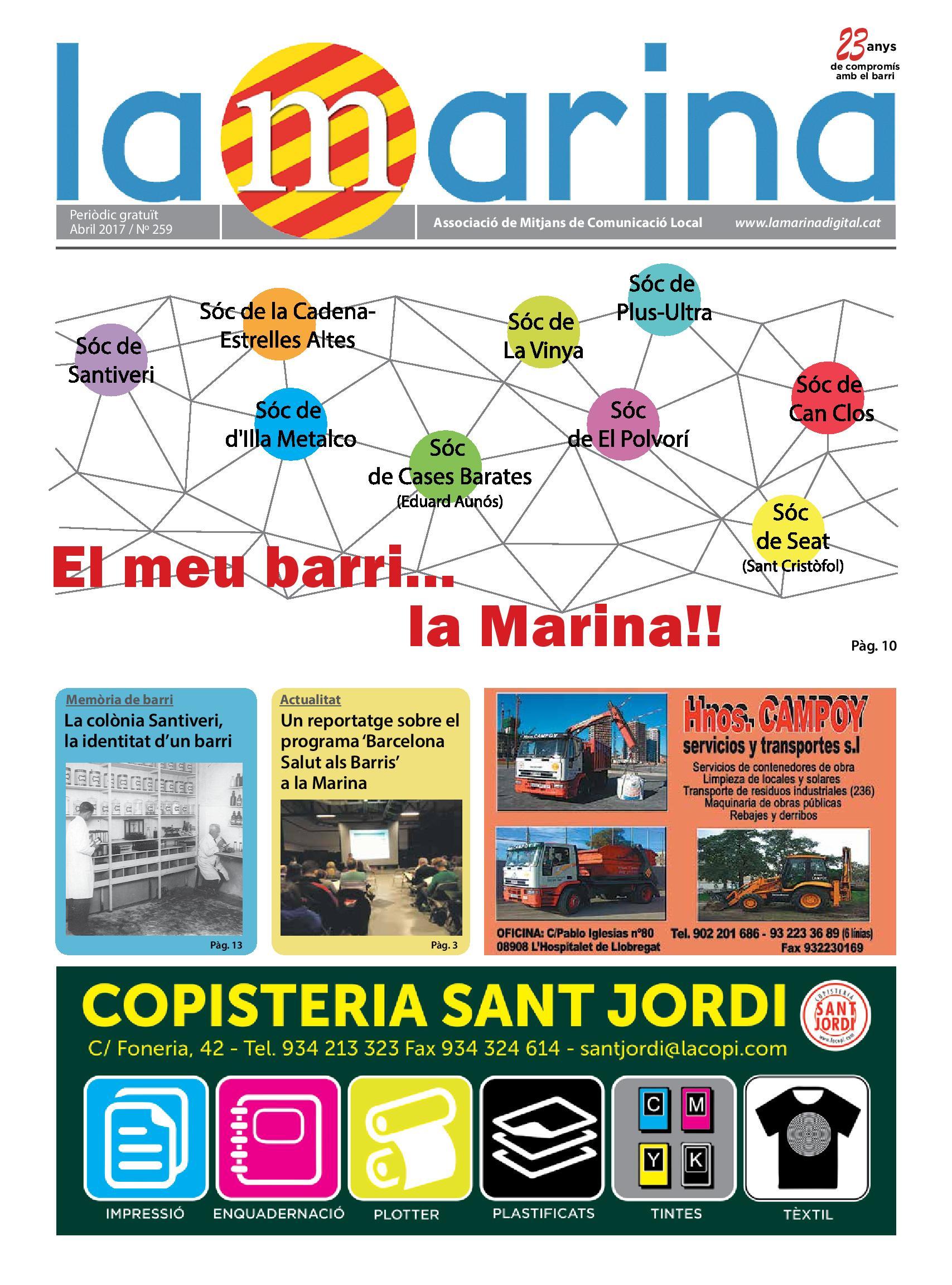 La Marina – Edició Abril 2017