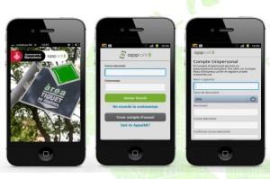 Registre a l'app barcelonina d'estacionament regulat // La Vanguardia