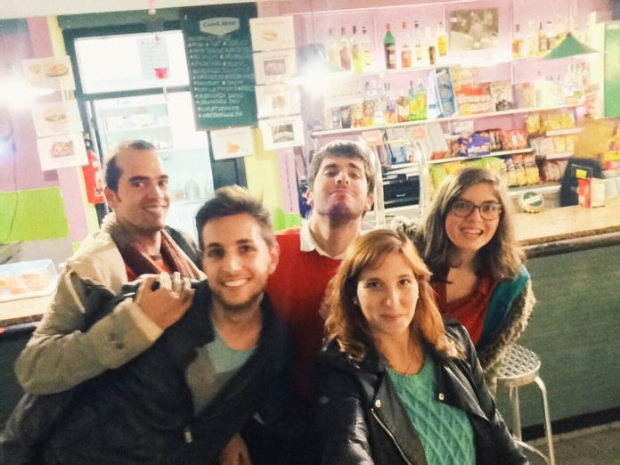 jordi Roca, Hector Nistal, Gabriel Coromines, Angela Sánchez i Silvia Depares