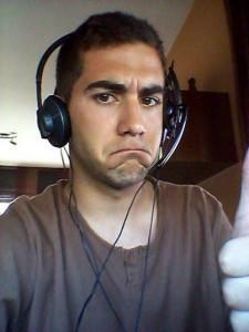 Guillem Estadella dona l'OK per entrar per Skype a No Som Sants