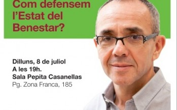 La coalició ICV-EUiA a Sants-Montjuïc organitza una trobada amb  Joan Coscubiela i Ricard Gomà a la Sala Pepita Casanellas