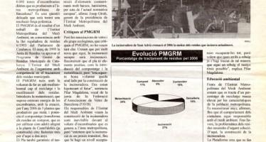 """""""Un nou segle amb incineració"""" (novembre, 1996)"""