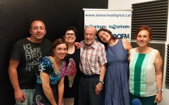 Programa 20 Julio con Josep Fabregas, Encarna Bazán, Pilar Blanes, Martin y Christina Valdivia