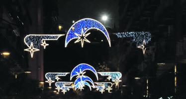 L'encesa de llums de Nadal del Districte serà a La Marina