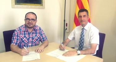 El Districte de Sants-Montjuïc i l'AMCL renoven el seu conveni de col·laboració