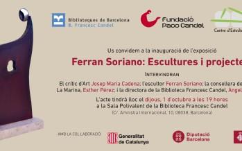 Arriba l'exposició Ferran Soriano: escultures i projectes